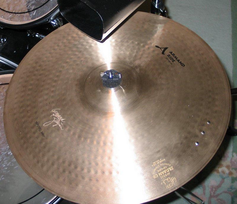 Nine Basic Jazz Beats for Drumkit Ride cymbal